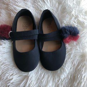 Zara Pom pom shoes